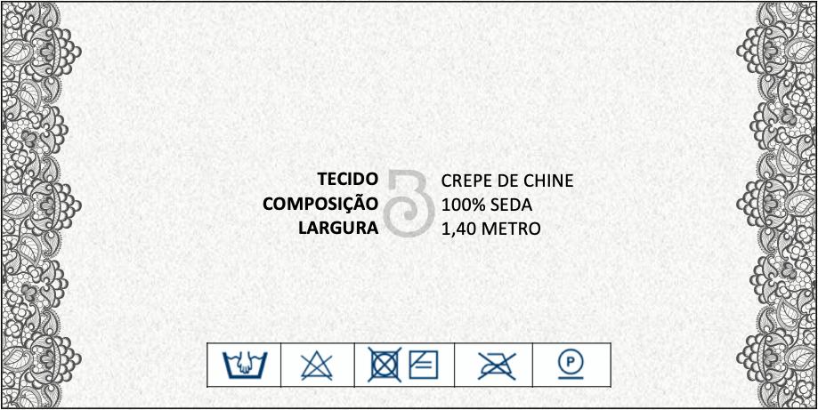 CREPE CHINE SEDA PURA ESTAMPADO